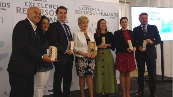 Los Realejos recibe el Premio a la Excelencia en Recursos Humanos de Canarias 2019