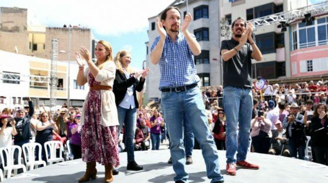 """Pablo Iglesias: """"El ministro Soria no representaba a los canarios, sino a Repsol"""""""