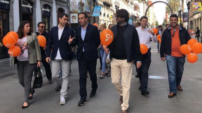 """""""Ciudadanos es el único partido que puede devolver la cordura a España y a Canarias"""""""