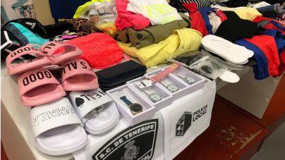 Detenida por sustraer 59 prendas por valor de 819 euros en tiendas de la capital