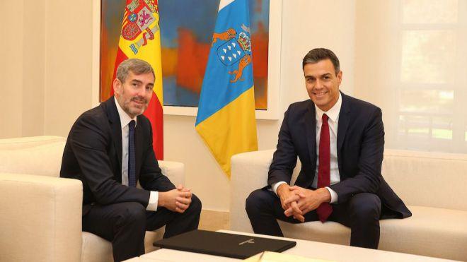 Un Consejo de Ministros en Canarias refleja la