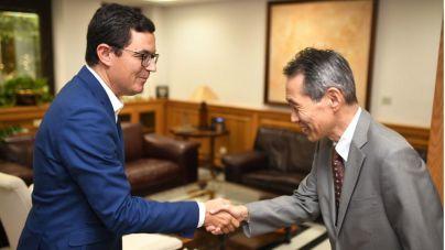 Pablo Rodríguez subraya la importancia de continuar fortaleciendo las relaciones comerciales con Japón