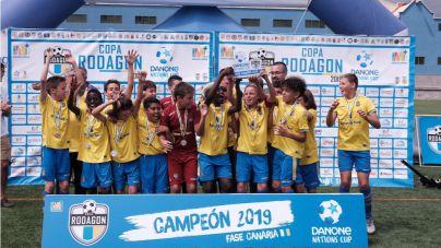 La UD Las Palmas revalida el título de la Copa Rodagon