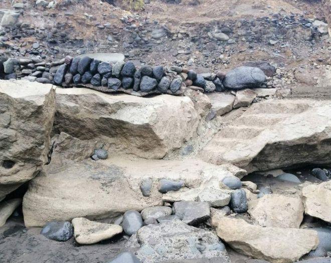 """Arcila califica de """"chapuza 'made in' CC-PP"""" la denominada obra de acceso a la playa de Igueste"""