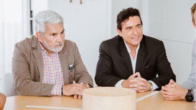 Carlos Marín y José Miguel Rodríguez Fraga presentan el concierto de Il Divo en Adeje
