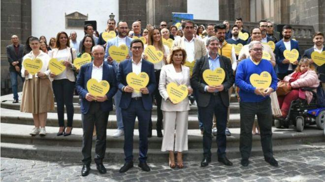 Coalición Canaria-Unidos por Gran Canaria presenta a su equipo, liderado por Nardy Barrios