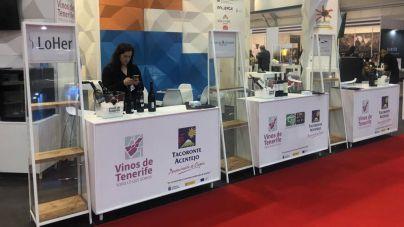 Tenerife exhibe en Fenavin la variedad y calidad de sus vinos