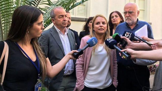 """""""Coalición Canaria ha hecho de la corrupción una forma de gobierno"""""""
