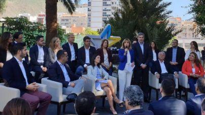 """""""Tenerife presenta una lista compacta y cohesionada para que Clavijo vuelva a ser el presidente de Canarias"""""""