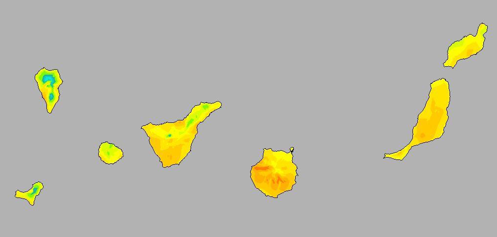 Temperaturas altas a partir de este viernes en Canarias