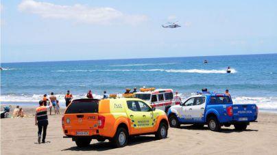 Europa premia los servicios de socorrismo que San Bartolomé de Tirajana ofrece en sus playas