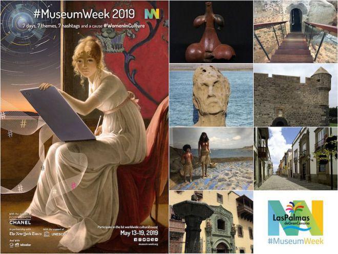 Gran Canaria se suma a la sexta edición de la semana de los museos en Twitter