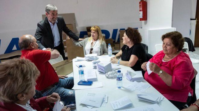 Clavijo critica 'la cobardía de Podemos-PSOE al no derogar la reforma laboral'