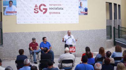 """ASG se compromete a trabajar para """"oxigenar"""" Valle Gran Rey"""