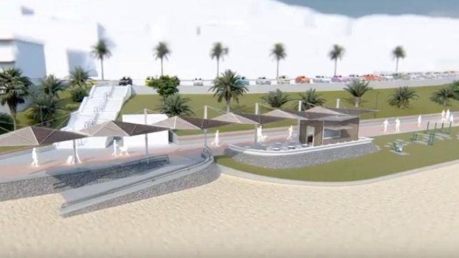 El nuevo aspecto que ofrecerá el paseo de la Playa de Las Vistas