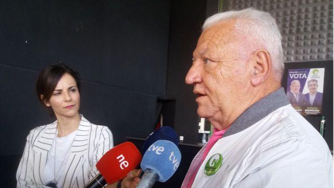 Hilario Rodríguez denuncia que Bermúdez aproveche una asamblea de Urbaser para pedir el voto