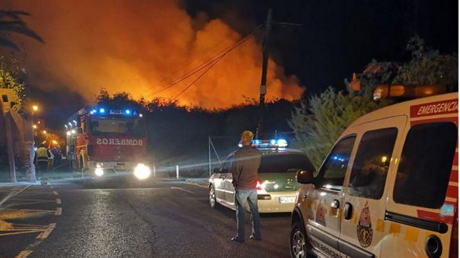 'Valle Gran Rey está sufriendo desde hace meses sabotajes e incendios intencionados'