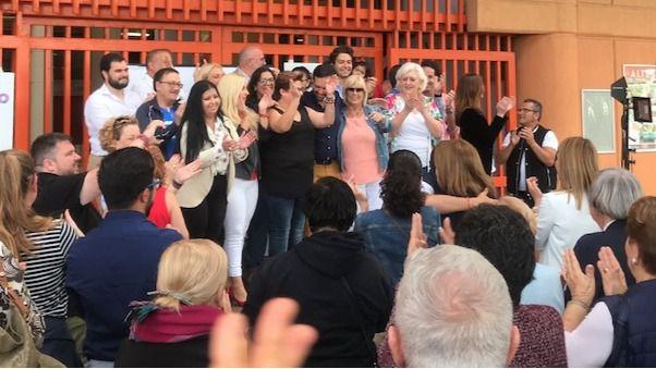 """Lope Afonso pide llenar las urnas de """"papeletas azules"""" contra los """"pactos con gaseosa"""""""