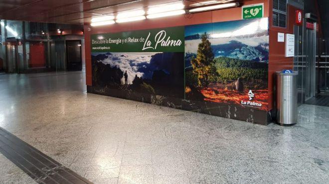 Turismo La Palma despliega la promoción de 'La Isla Bonita' en el centro de Madrid y Barcelona
