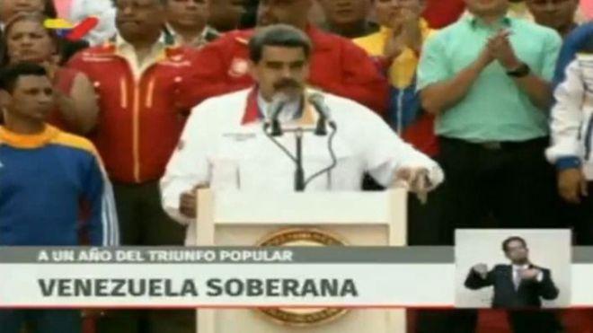 Maduro anuncia elecciones anticipadas a la Asamblea Nacional de Venezuela