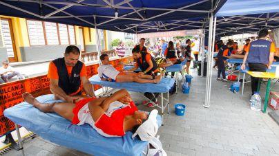 Los deportistas del Ironman Lanzarote no contarán con un servicio profesional autorizado de Fisioterapia