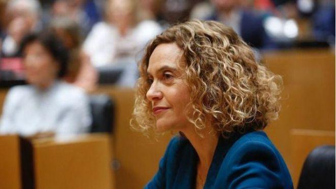 Meritxell Batet, elegida presidenta del Congreso