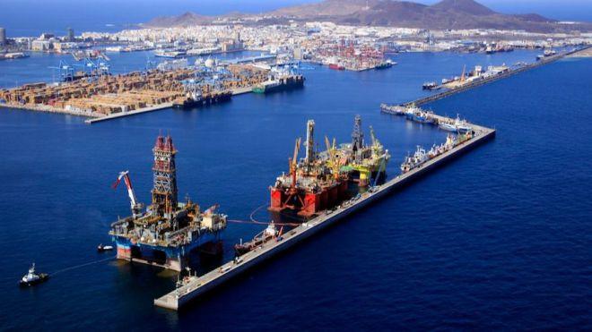 La licitación de los puertos de Las Palmas crece un 540%