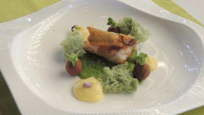Daniel Tejera Pérez, mejor chef joven de Canarias con un plato de morena frita inspirado en el mar
