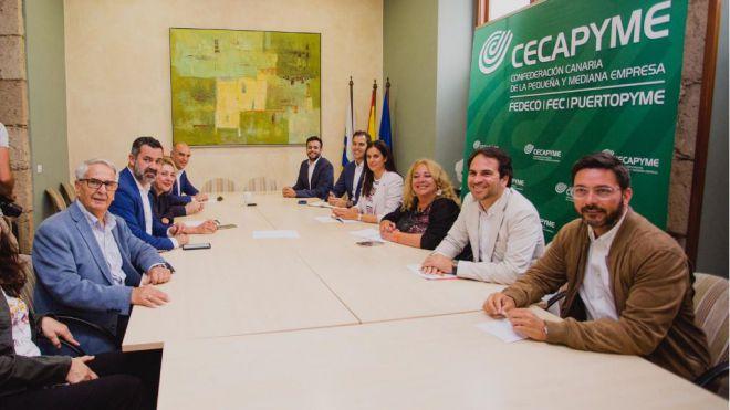"""""""Ciudadanos será el gobierno de los autónomos, las pymes y los emprendedores de Canarias"""""""
