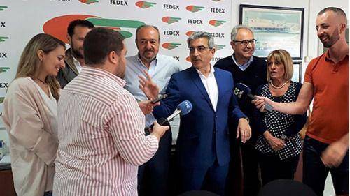Román Rodríguez reafirma el compromiso y la apuesta de NC por el sector primario canario