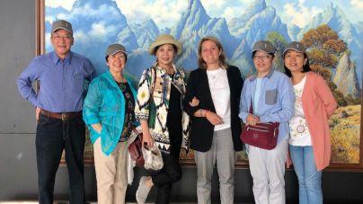Los hermanos de Sanmao visitan en La Palma