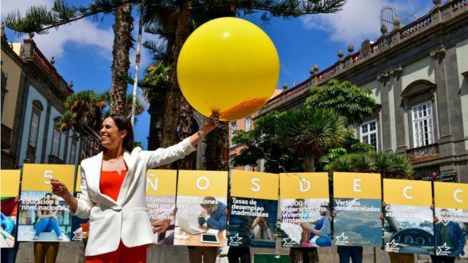 """""""Tenemos la oportunidad de cambiar Canarias, y de acabar con las políticas clientelares de CC"""""""