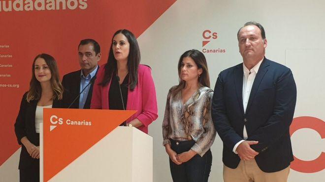 Espino admite el mal resultado y avanza que Cs buscará acuerdos en el Parlamento