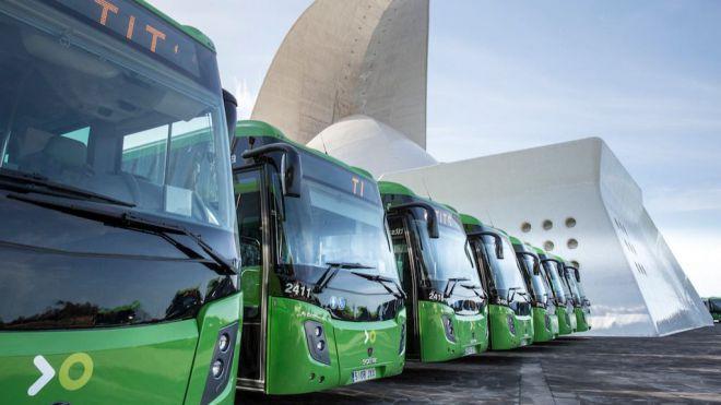 El número de pasajeros en Titsa crece casi un 20% en el primer trimestre