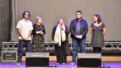 Manolo Vieira, El Bejo y Juan Manuel Cotelo reciben la Estrella Homenaje en la gala inaugural del Festivalito