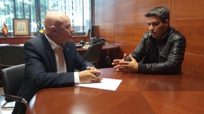 Yanes propone la creación de una Unidad Funcional de Hemofilia en Canarias