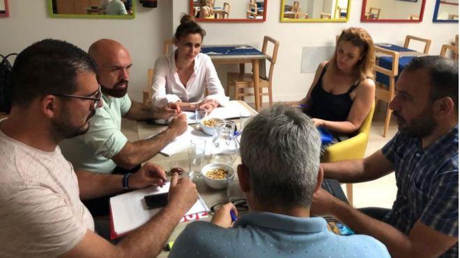 PSOE y ACP en conversaciones para alcanzar un acuerdo en el Ayuntamiento portuense