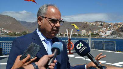 Curbelo traslada a Naviera Armas la urgencia de la línea marítima con Valle Gran Rey
