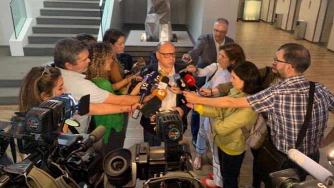 """""""Descartamos otro candidato a la presidencia de Canarias que no sea Fernando Clavijo"""""""
