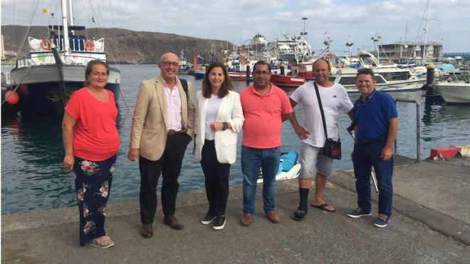Autoridad Portuaria autoriza la ocupación de la lonja a los pescadores de Los Cristianos