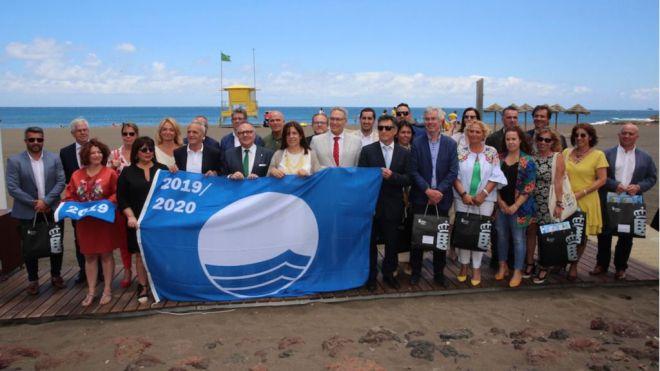 Baltar entrega en Telde las Banderas Azules a 49 playas y seis puertos de Canarias