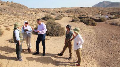 Expertos realizan una campaña de intervención arqueológica en el yacimiento del Rubicón