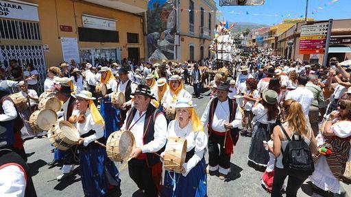 La romería en honor a San Antonio de Padua vistió de tradición las calles de la Villa histórica
