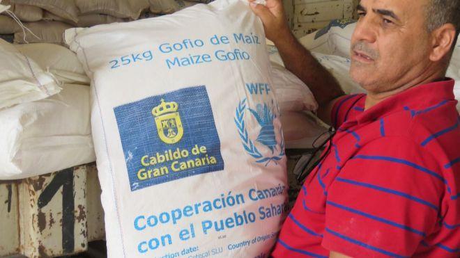 El Cabildo enviará 1.200 toneladas de gofio a los campamentos saharauis