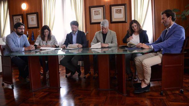 Cabildo y ayuntamientos del Valle de Güímar formalizan la construcción de la depuradora del Polígono