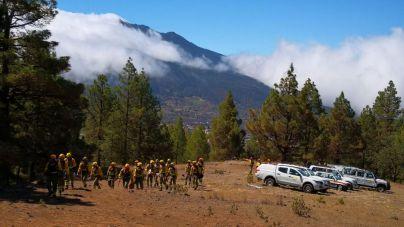 Política Territorial pone a punto el dispositivo contra incendios con un gran simulacro en La Palma