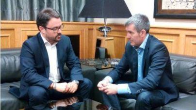 Antona se piensa la oferta de CC para presidir el Gobierno de Canarias