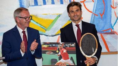 David Ferrer recibe la Medalla de Oro al Mérito Deportivo