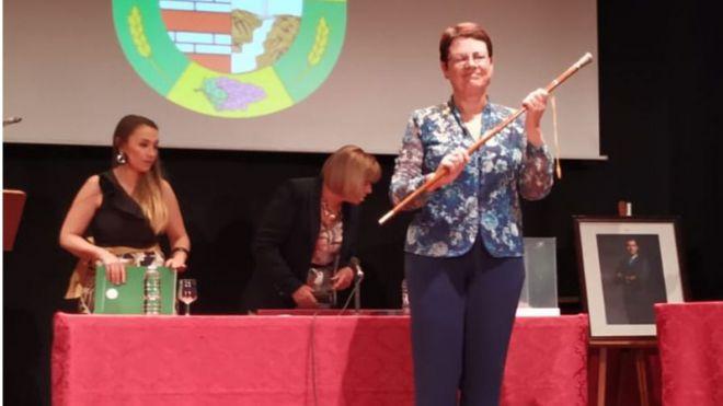 Ana Rosa Mena de Dios, elegida alcaldesa de la Villa de Tegueste