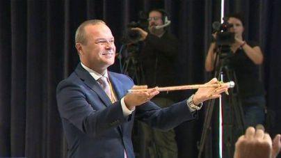 Augusto Hidalgo toma posesión como alcalde de Las Palmas de Gran Canaria